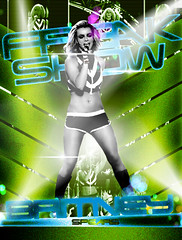 034 Britney Spears: Freakshow (http://www.fickr.com/photos/y3nreloaded AGREGA!!) Tags: poster spears britney blend freakshow blackut y3n