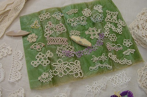 tatting samples