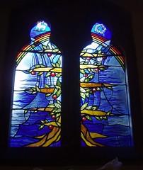 Millennium Window, Bearley (Aidan McRae Thomson) Tags: church window glass modern stainedglass millennium stained warwickshire bearley