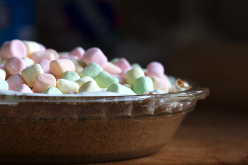 Marshmallow Pie Topping Top With as Many Marshmallows