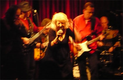 Speedo's Billy Rose Band at Soul of the Blues, Cornelia Street Cafe