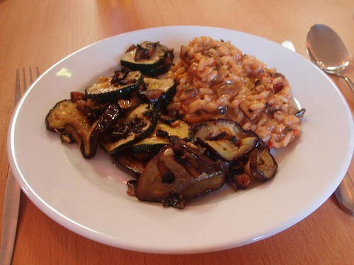 Mushroom and Sundried Tomato Risotto