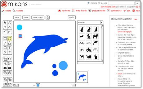 Disegna loghi e forme di qualità con la Mikon Machine