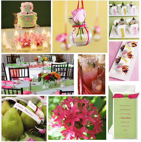 bridal shower ideas decorate with pink and green and charm your guests and the bride pears are delicious baked with cardomon and honey drizzled over