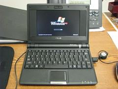 Asus Eee:  Booting Windows XP Home