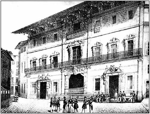 grabado Ayuntamiento