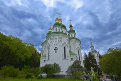 Ukraine, Kiev. Vydybichi Orthodox Monastery.200805107 (lights2008) Tags: art church ukraine monastery fabulous kiev soe mostpopular   5photosaday mywinners abigfave shieldofexcellence platinumphoto anawesomeshot top20travel superbmasterpiece diamondclassphotographer brilliant~eye~jewel theperfectphotographer goldstaraward skyascanvas peachofashot