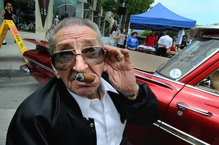 'EH?', Bill Hines World Famous Car Customizer at the age of 84, Culver City, California