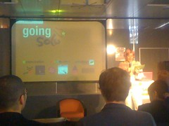 Going Solo conference started (Jaap Stronks) Tags: lausanne stephaniebooth goingsolo