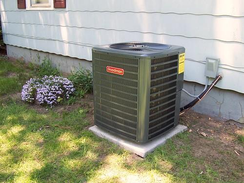 New Air Conditioner Unit