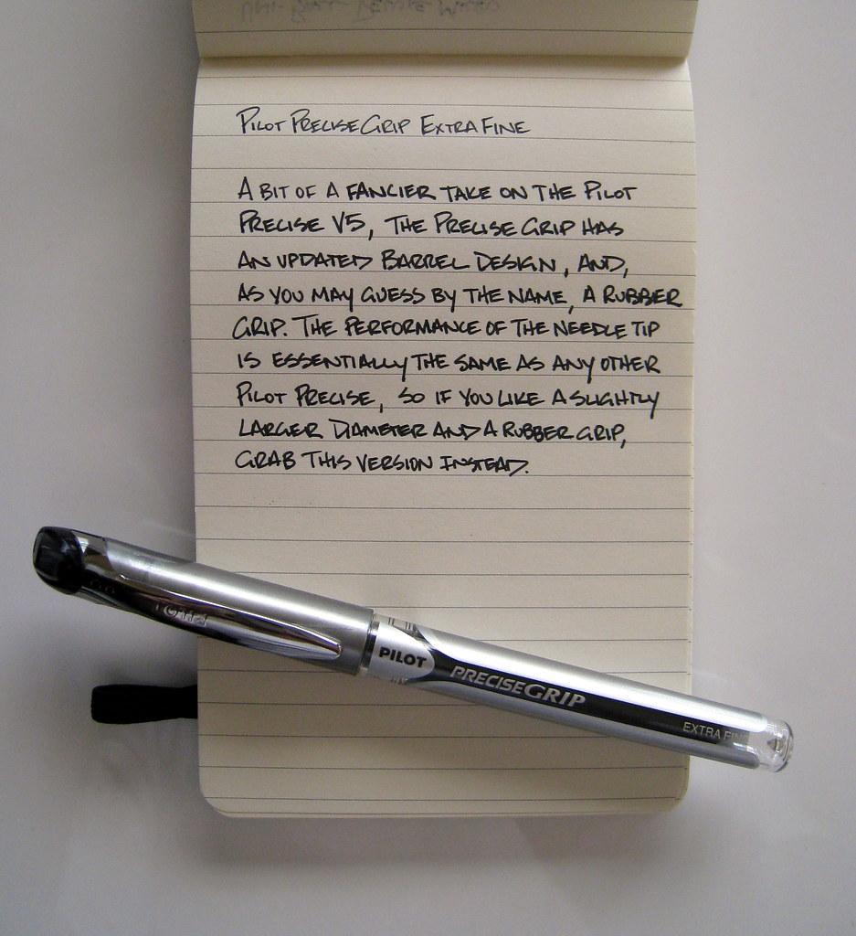 Review: Pilot Precise Grip Extra Fine — The Pen Addict
