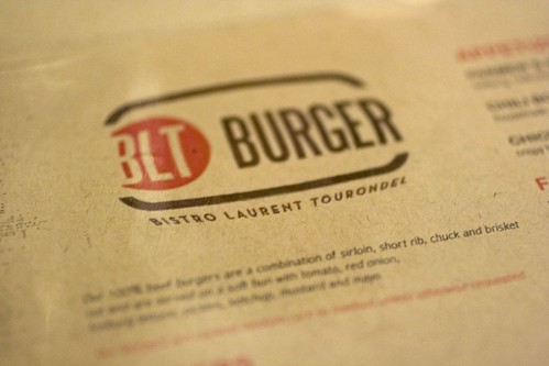 BLT Burger Menu