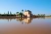 Saadian garden pavilion (cranjam) Tags: basin morocco marocco marrakech pavillion menara bacino qanat menaragardens padiglione artificiallake lagoartificiale saadiangardenpavilion abdalmumin giardinidellamenara jardinsdelaménara