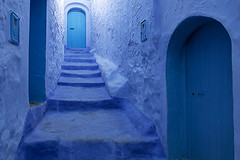 Chaouen (the blue city) (C.Stramba-Badiali) Tags: blue northafrica bleu morocco maroc maghreb chaouen chefchaouen cannabis tanger rif berbers arabs     islamicpopulation