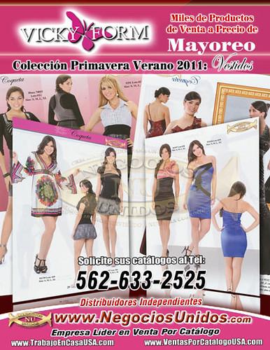 09087c81a3 Catalogo VickyFormUSA Vestidos Corte Ingles Ropa de Marca Oferta de Negocio  por Trabajo en Casa