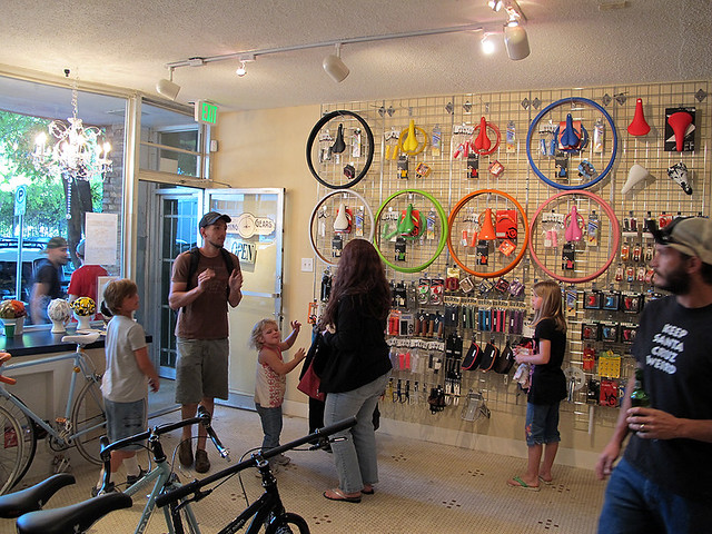 Inside Switching Gears Cyclery
