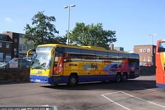54071 - Stagecoach Glasgow - SV59CHL (lazy south's travels) Tags: uk england west bus scotland volvo coach britain scottish devon exeter service express tri m6 stagecoach chl axle b12 citylink megabuscom sv59
