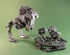 Feed me... (Legoagogo) Tags: starwars lego chichester moc endor atst chickenwalker