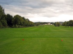 18th Hole at Carrick Knowe golf course, Edinburgh
