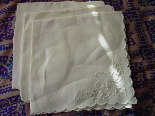 Thrifty Thurs - Linen napkins