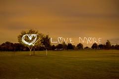 Love More Lightpainting