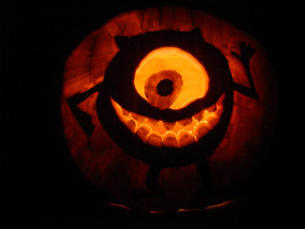Great Mike Wazowski Pumpkin Template Photos >> Easy Pumpkin Carving ...