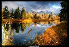 A Fall's morning in Grand Teton (Arnold Pouteau's) Tags: reflection fall sunrise nationalpark wyoming grandteton naturesfinest october21 mywinners colorphotoaward