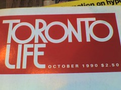 Toronto Life October 1990