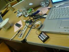Wires, temperature sensors and RFID fun