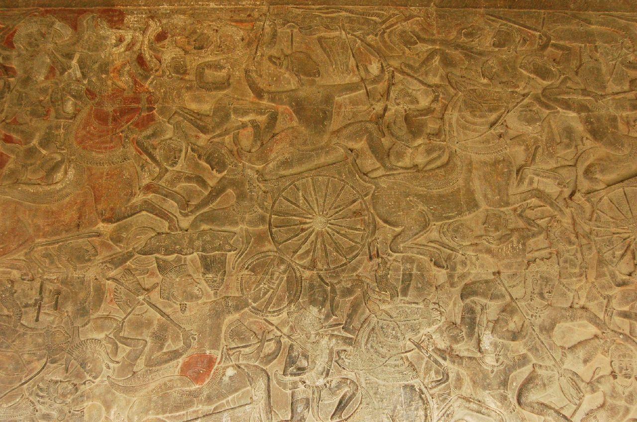 Battle of Kurukshetra 庫魯之戰
