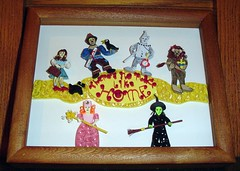 "Paper Quilling 9X11 ""There's no place like home"" (Hope's art) Tags: art paper dorothy basket handmade witch oz wizard wand scarecrow lion shadowbox crow etsy custom toto broom quill babyshower tinman coils courage rubyslippers filigree quilling wickedwitch yellowbrickroad glinda cowardlylion paperquilling hopesart customart paperfiligree hopesartcreationsetsycom handmadeisbetter hopesartcreations"