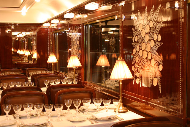Pullman Orient Express - Train Bleu