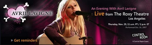 An Evening With Avril Lavigne