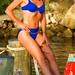 Amy Masons Blu Bikini
