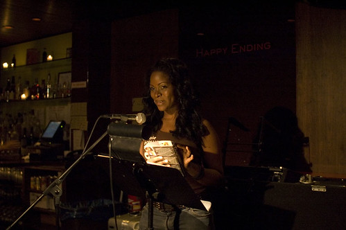 Abiola Abrams reads from Dare at In The Flesh