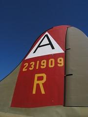 Boeing B-17 vertical stabilizer (Astaken) Tags: world 2 two vertical war aircraft aviation military wwii olympus b17 ii boeing bomber c5060 warbird stabilizer b17g nineonine verticalstabilizer