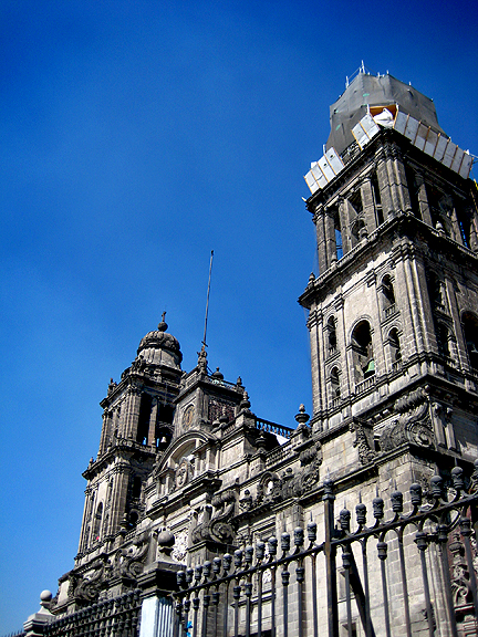 Palacio Nacional en Mexico City