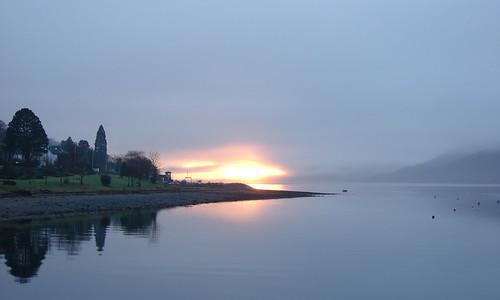 Loch Linnhe Sunset on Hogmanay