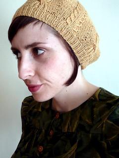 Buttercup Beret Knitting Pattern : Ravelry: Buttercup Beret pattern by Sarai Mitnick