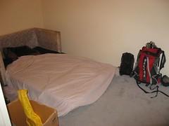 Couch in Ben's spare bedroom