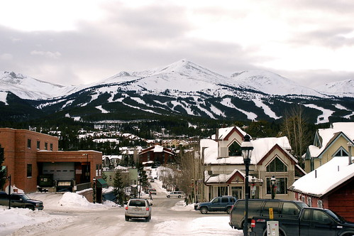 Breckenridge, seen from his front yard