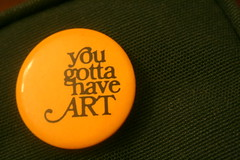 you just gotta.. (microabi) Tags: camera green thanks bag badge canon400d youjustgottahaveart sentfrombeck