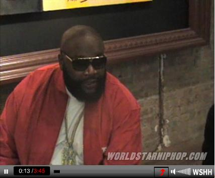 RICK ROSS addresses the CUBAN LINK diss song