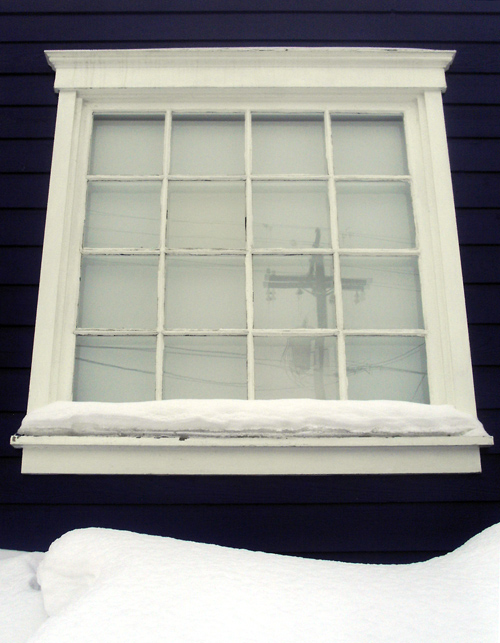window, Park City, Utah
