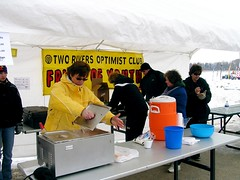 Two Rivers Optimist Club Serves Up Hot Food and Drinks