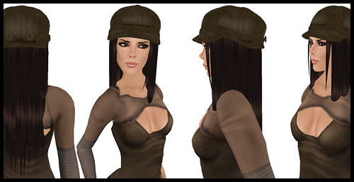 [MG fashion] Cap sneak a peak