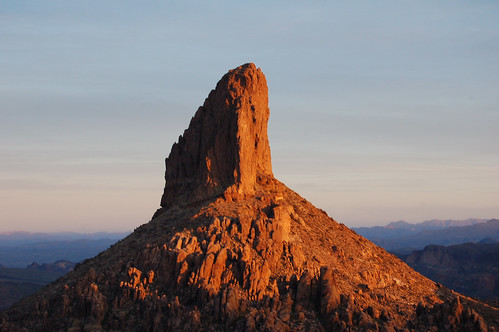 Weaver's Needle at Sunrise
