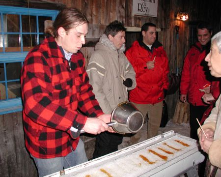 Chemin du Roy, Quebec Sugar Shack