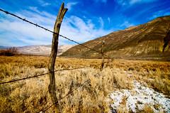 Desert Fence (sandy.redding) Tags: california landscape desert panamintvalley tokinaatx124prodx