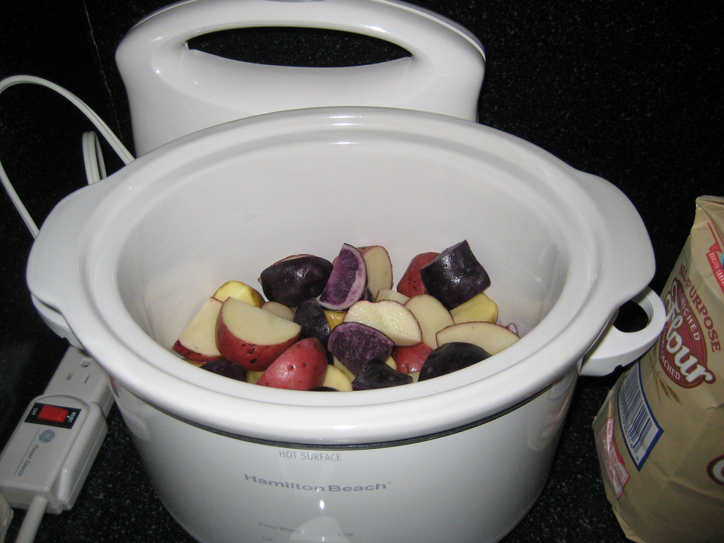 Potatoes in the Slow Cooker